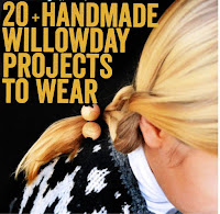 20 + Handmade projects to wear