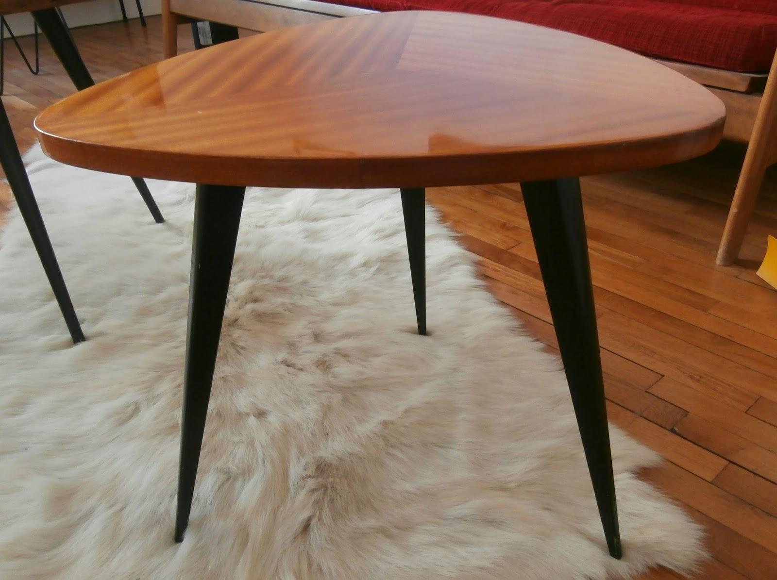 Dur e de vie ind termin e table basse tripode - Table basse rehaussable ...