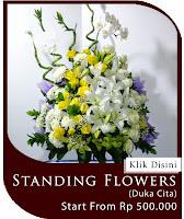 bunga duka cita, rangkaian bunga duka cita, bunga untuk orang meninggal, buket bunga duka cita, condolences flowers, toko bunga di jakarta
