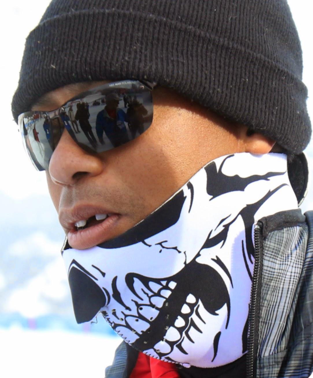 Tiger Woods Ski Mask