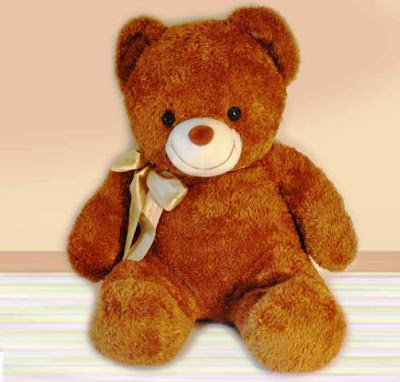 Boneka Teddy Bear Cokelat Cute Banget