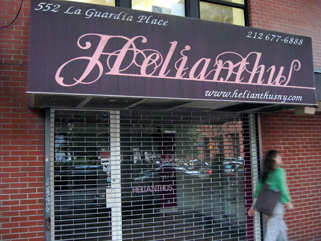 Signage has a way of closing down establishments in New York City