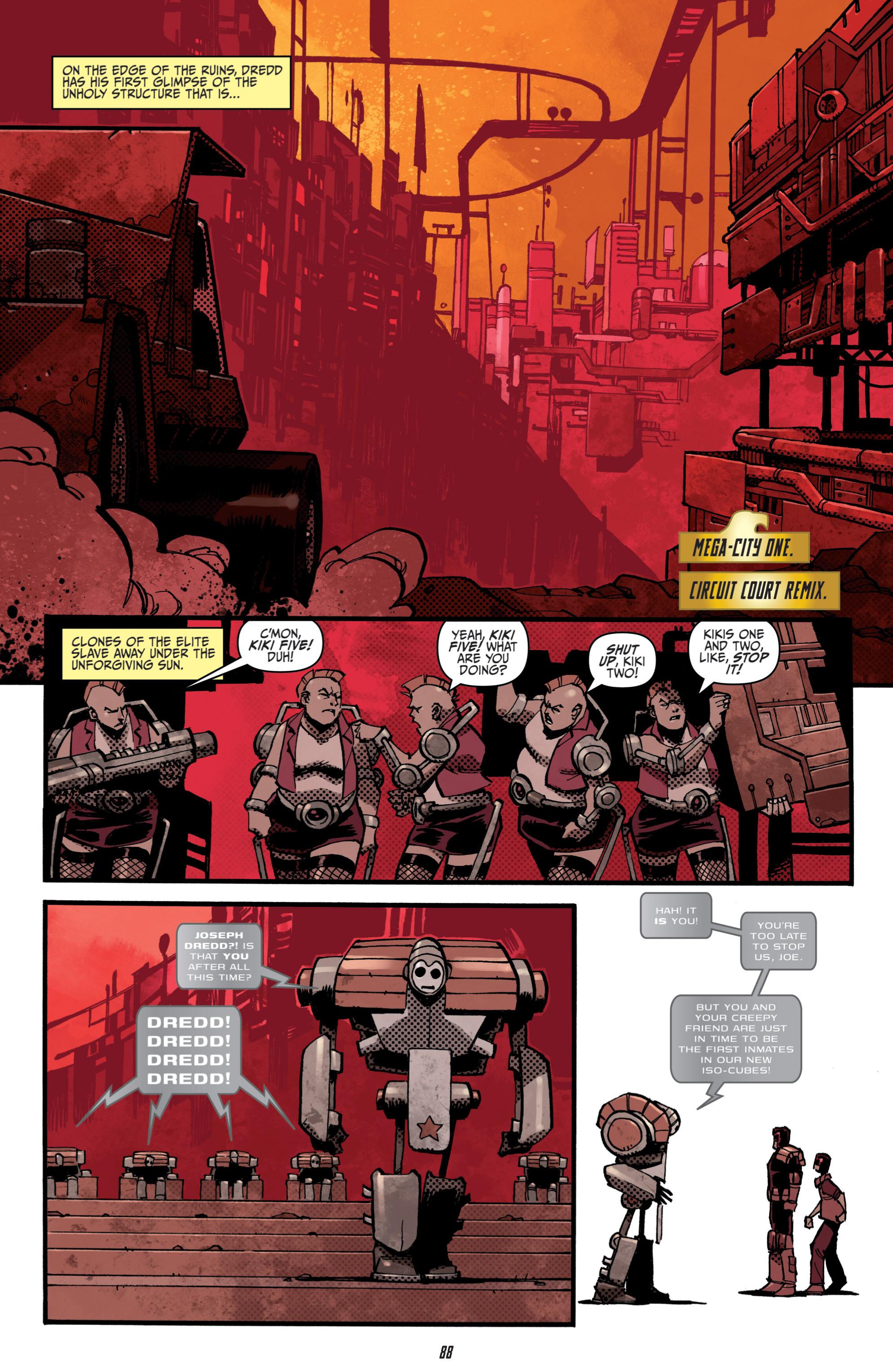 Read online Judge Dredd (2012) comic -  Issue # _TPB 3 - 88