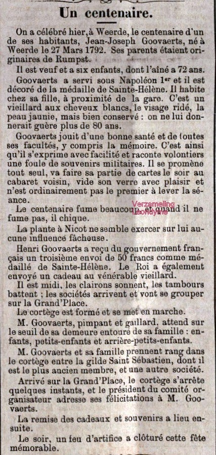 Le Progrès 30 maart 1893. Verzameling Leondyme