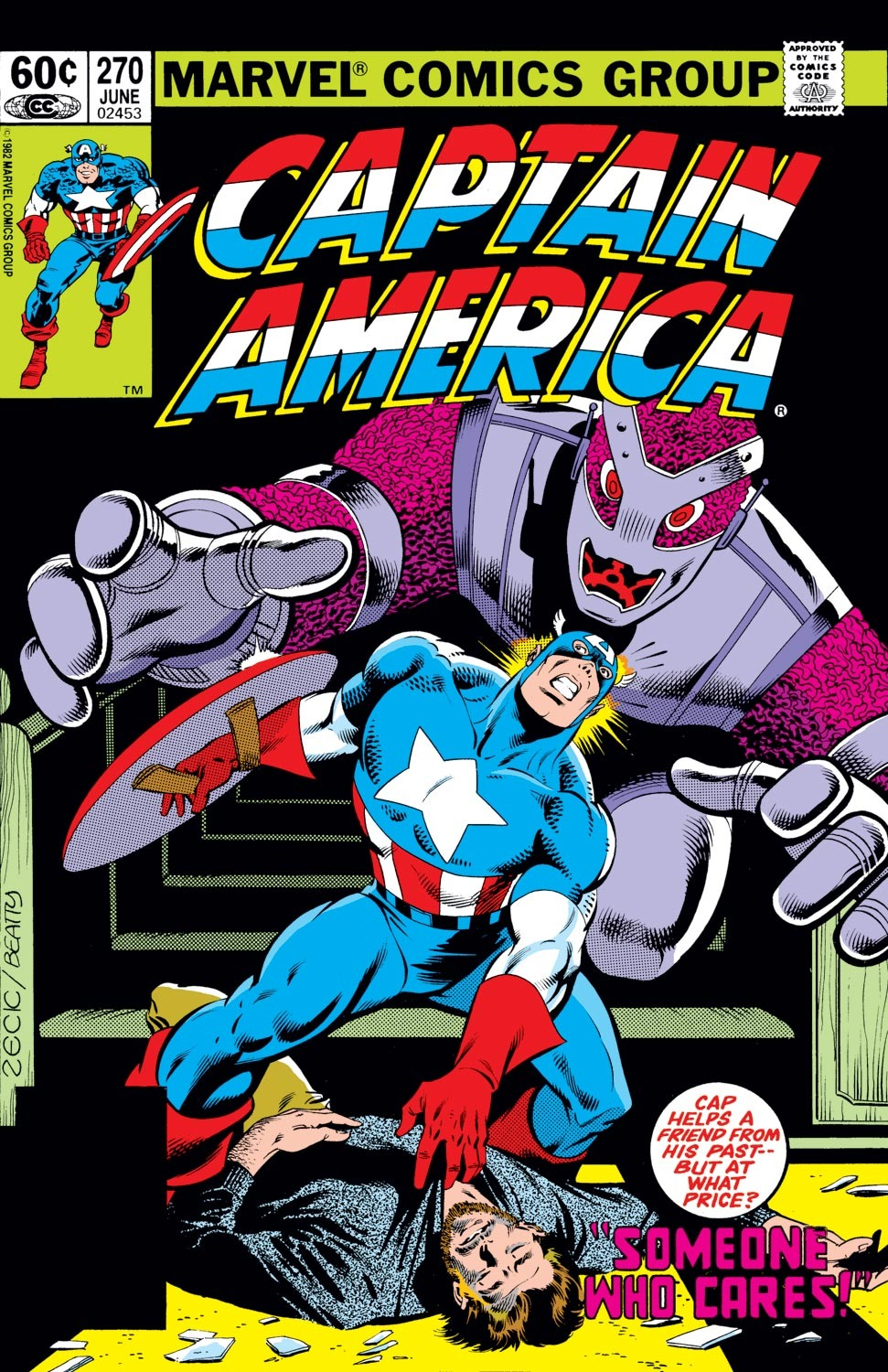 Captain America (1968) Issue #270 #186 - English 1
