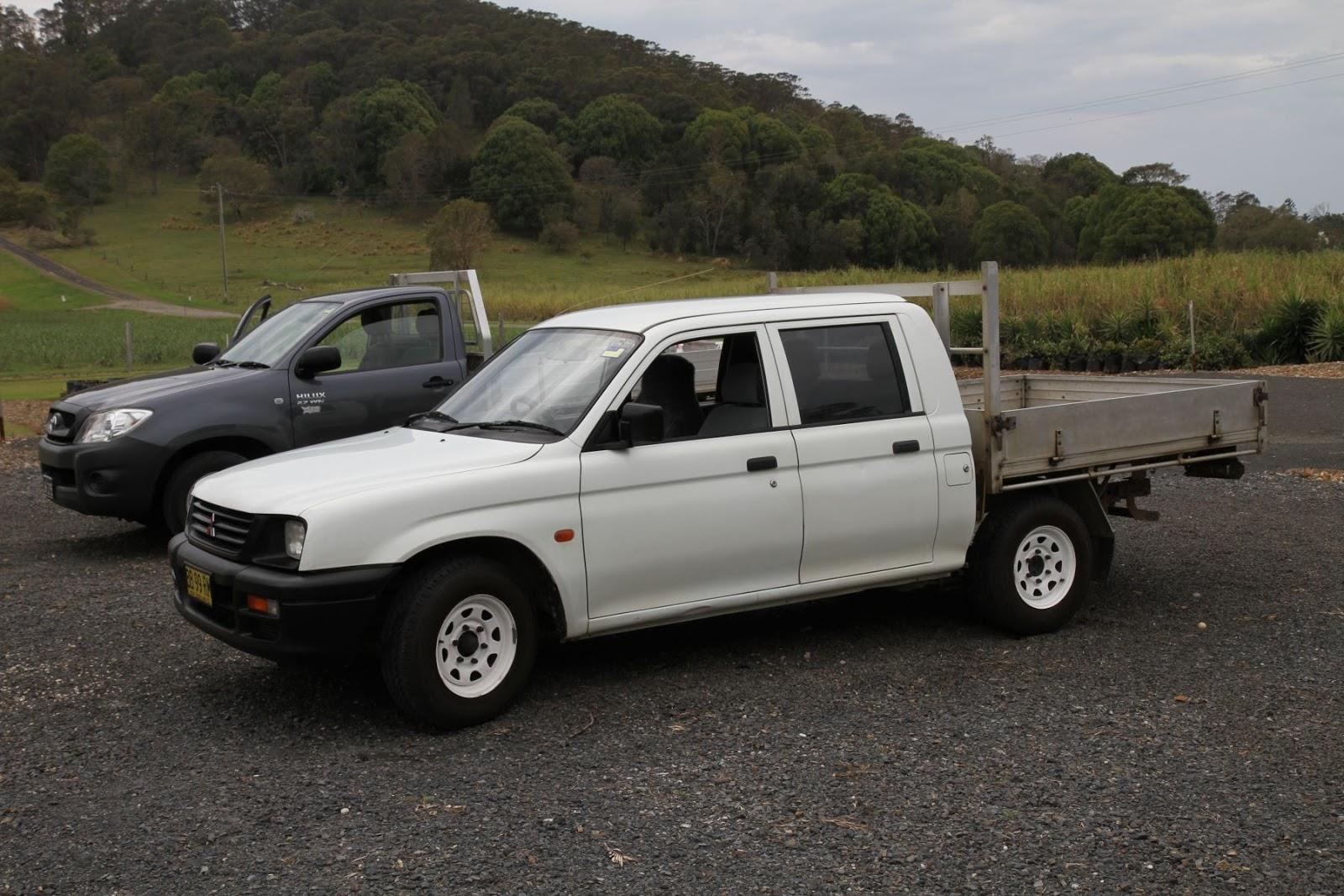 Mitsubishi triton dual cab for sale