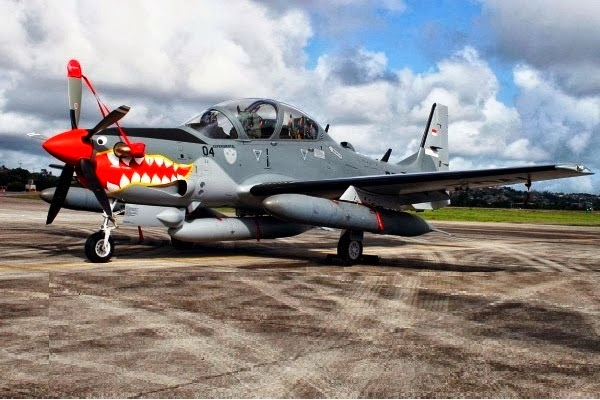Pengiriman Pesawat Turboprop EMB 314 Super Tucano dari  Brazil Tertunda