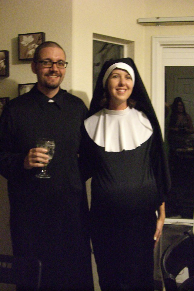 Pregnant Nun And Priest Costume Pregnant Nun And The Insatiable