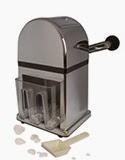 zdrobitor cuburi gheata profesional cu lamele metalice, accesorii profesionale bar