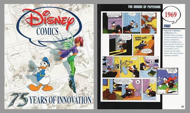 "San-Diego comic-con magazine ""Disney Comics – 75 Years of Innovation"""