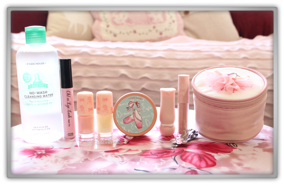 Jolse Order #10 Etude House Only Haul & Review 2015 makeup beauty blogger etude house dreaming swan lips masacara nails mild water cheek