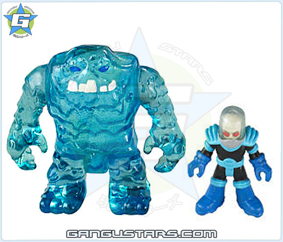 Imaginext DC Super Friends Batman Mr. Freeze Clayface