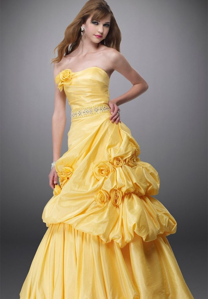 WhiteAzalea Ball Gowns: Colorful Ball Gowns