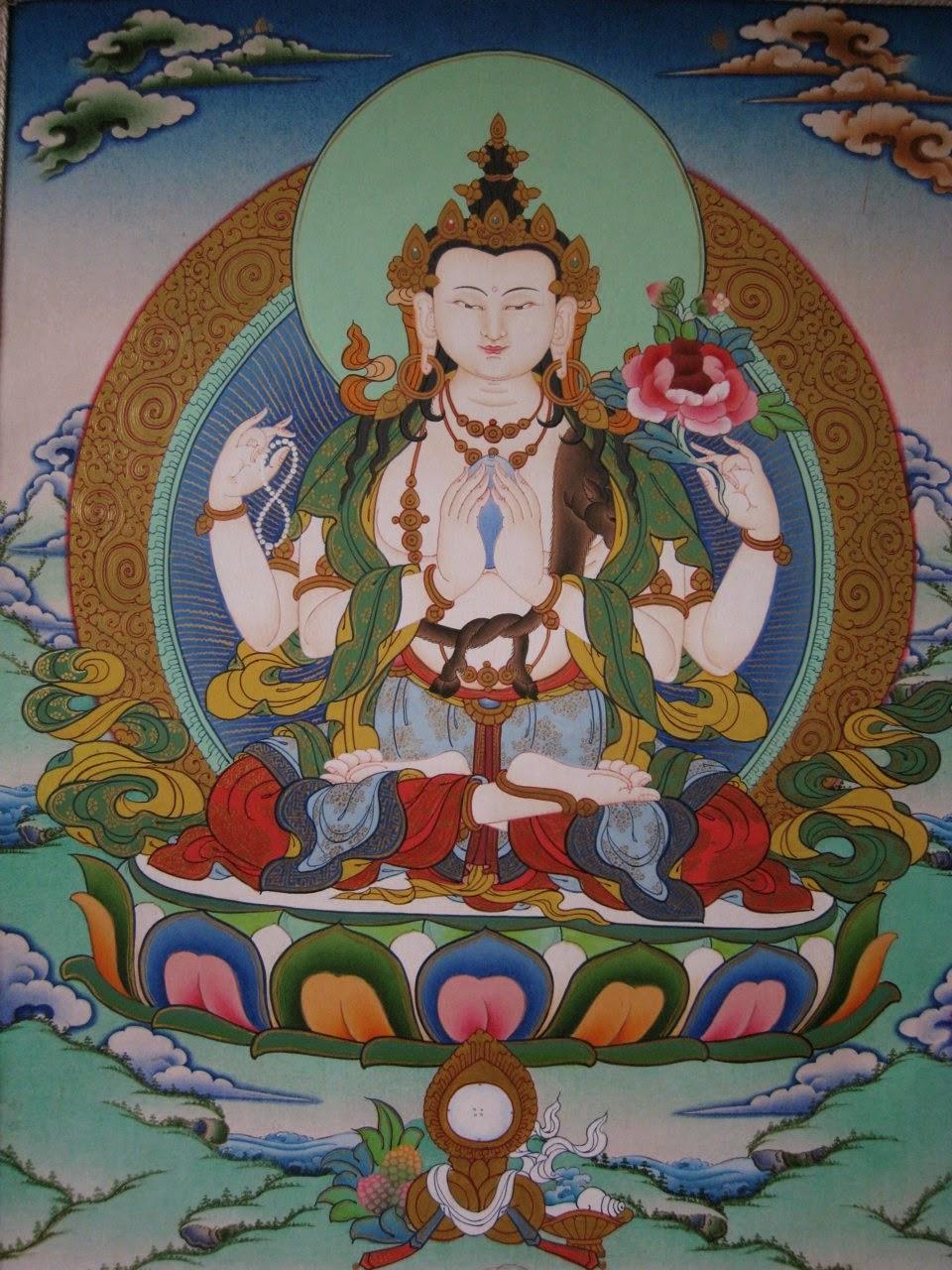 Chenrezig/Avalokiteśvara