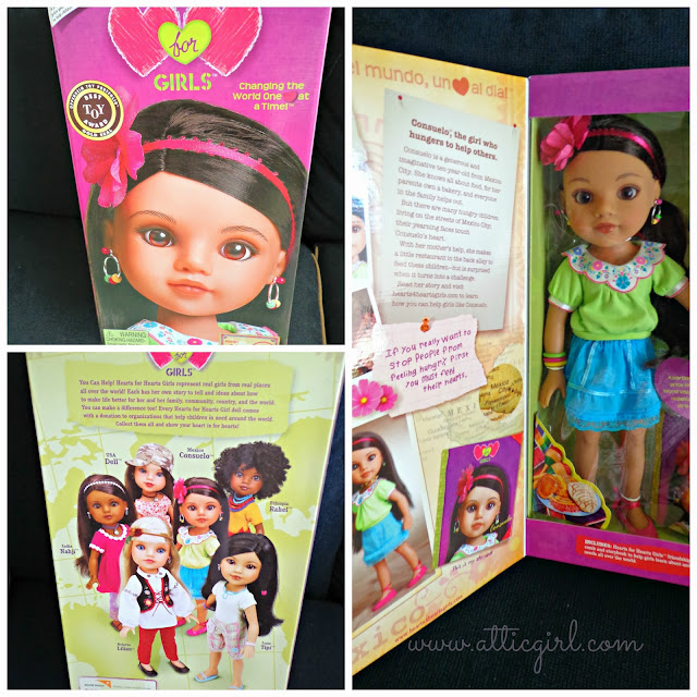 Hearts for Hearts Girls dolls, holiday gifts