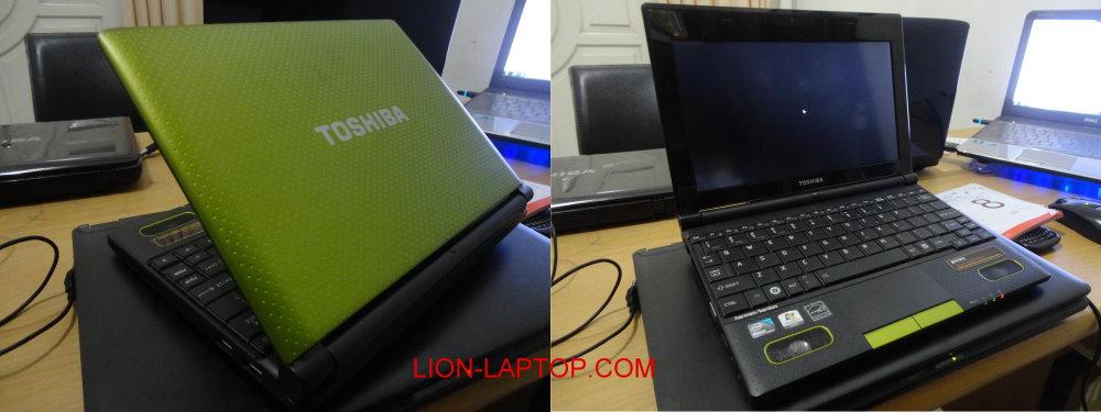 Netbook TOSHIBA NB520 Laptop Bekas Malang