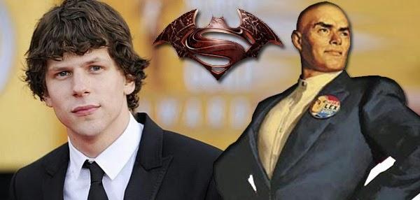Jesse Eisenberg sera un Lex Luthor con tatuajes