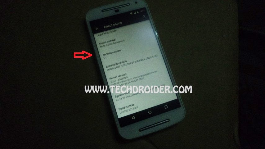 Motorola Moto G2 akan mendapatkan update Android v5.1 Lollipop