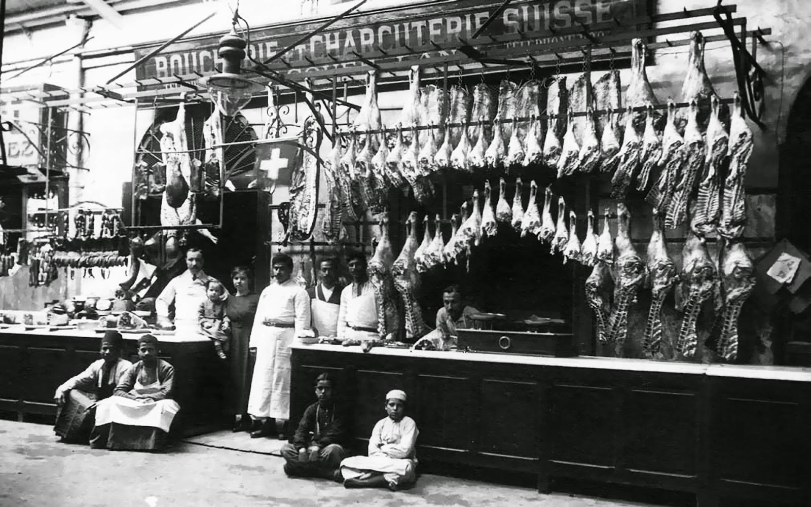 سلسلة اللطائف المصورة - صفحة 2 The-Swiss-butcher-in-Alexandria_30s