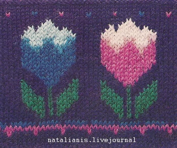 Метки: Вышивка по вязке