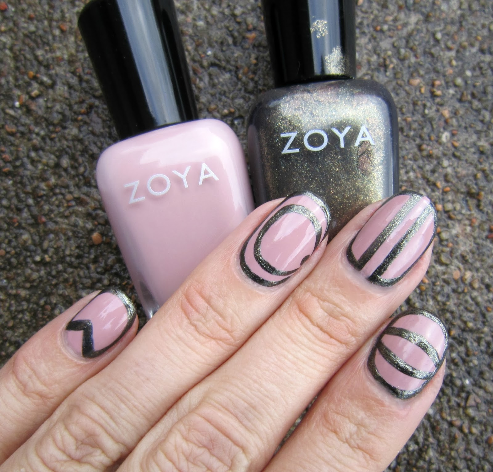Concrete and Nail Polish: Nail Art Inspired By Freestyle Nails For ...
