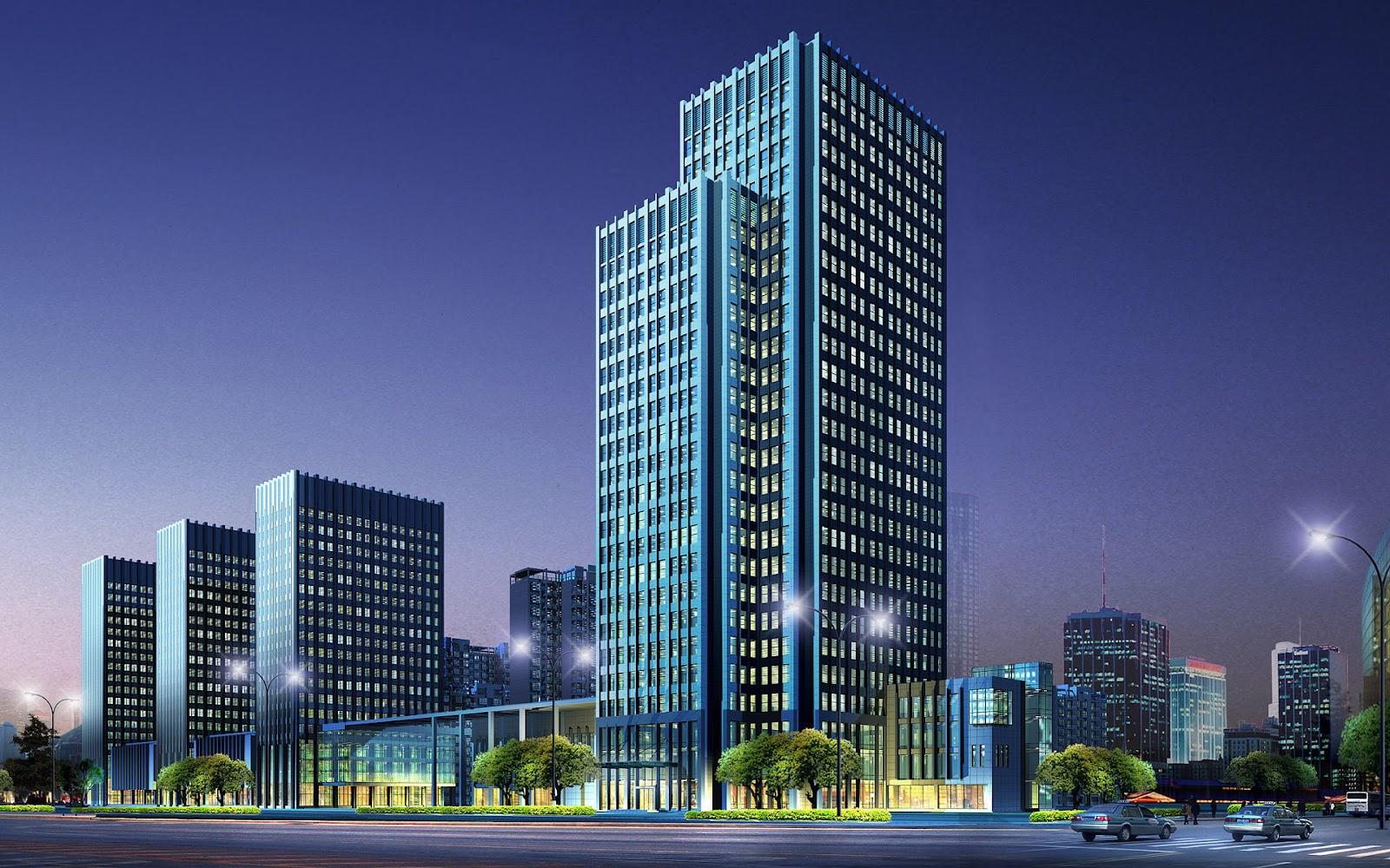 3d Buildings Wallpapers Top Best Hd For Desktop