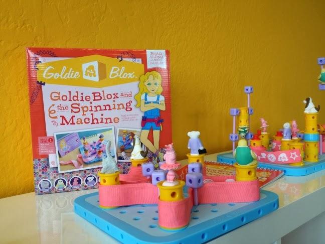 Goldie Blox, juguetes, toys, girls, niñas