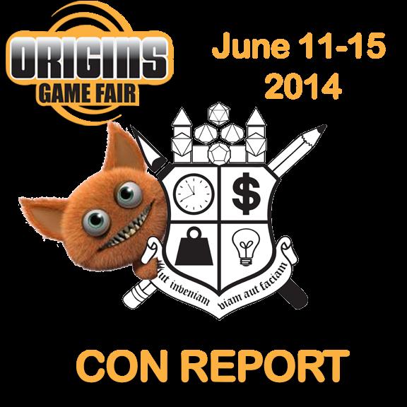 Origins 2014 Convention Report