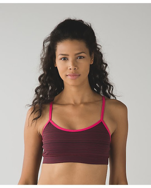 lululemon kanto-stripe bordeaux flow y