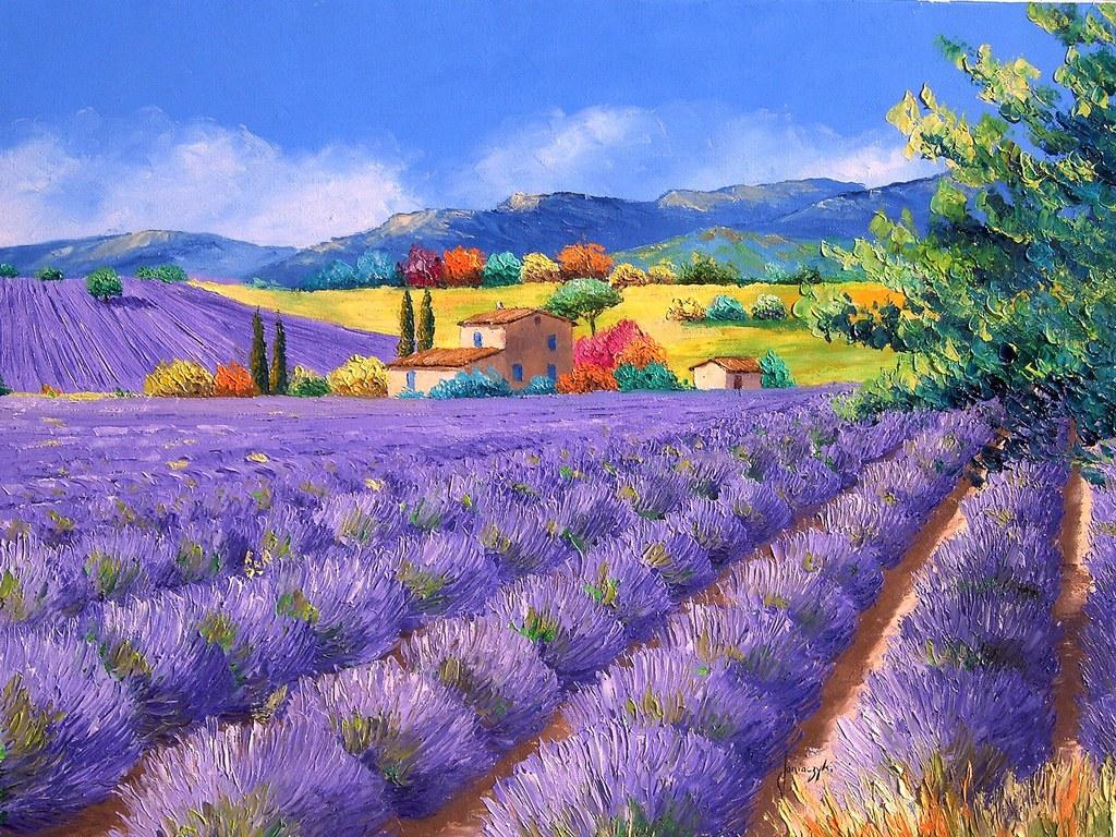 Sharing the world together jean marc janiaczyk landscape for Oil paintings for the home