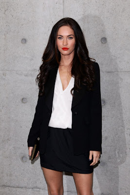 Megan Fox Long Hairstyles