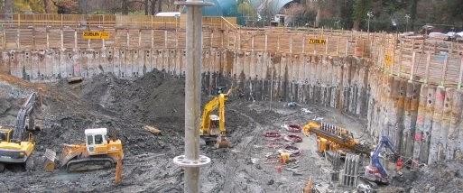 Результаты измерений нагрузки на сооружения