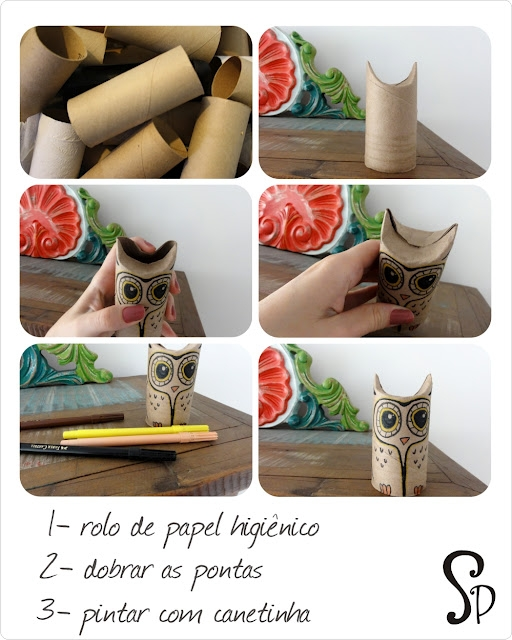 reciclar papel higienico