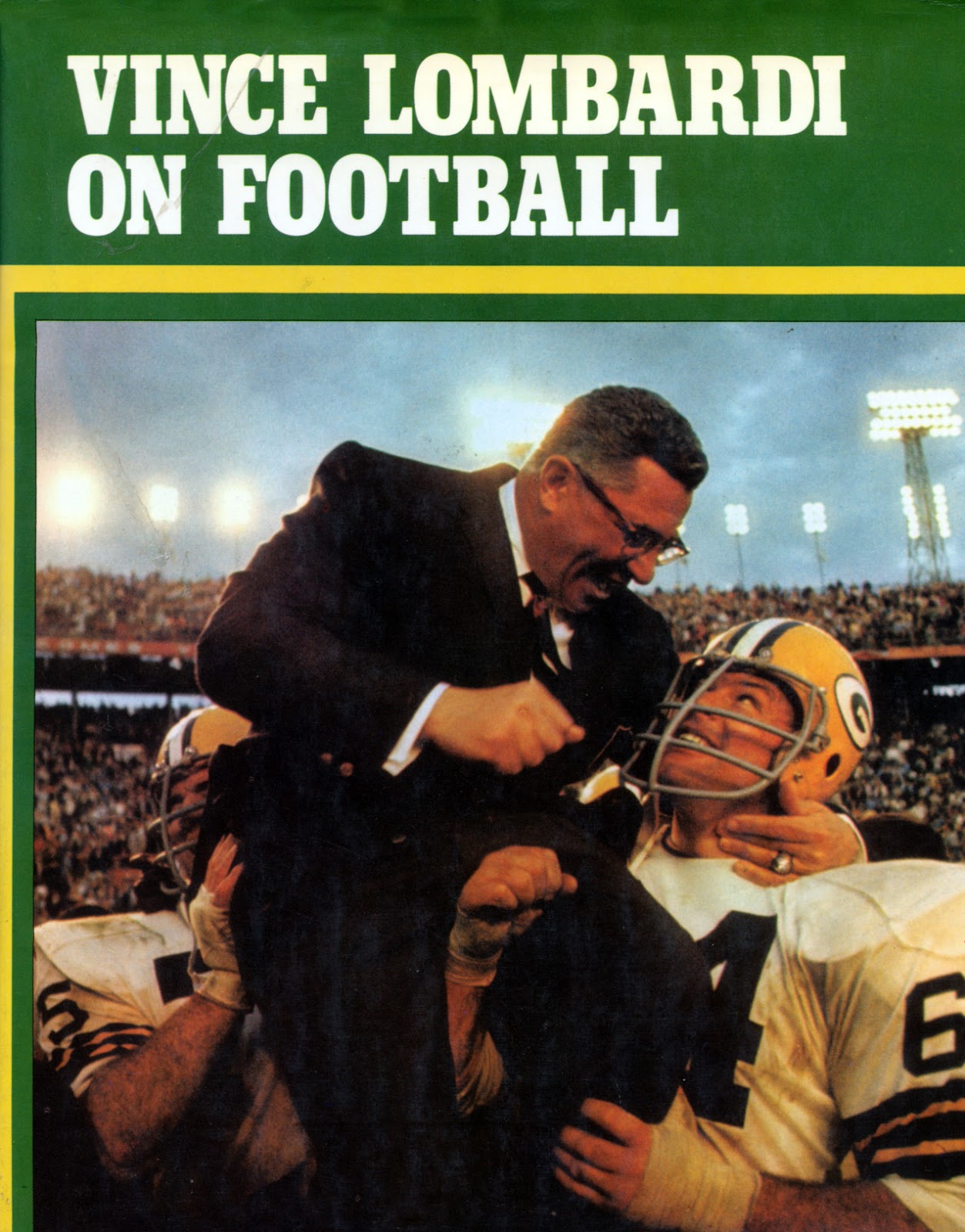 vince lombardi is one of football The lombardi rules: 26 lessons from vince lombardi--the world's greatest coach passion | lombardi did more than build and maintain one of the most colorful and efficient dynasties in the history of the national football league.
