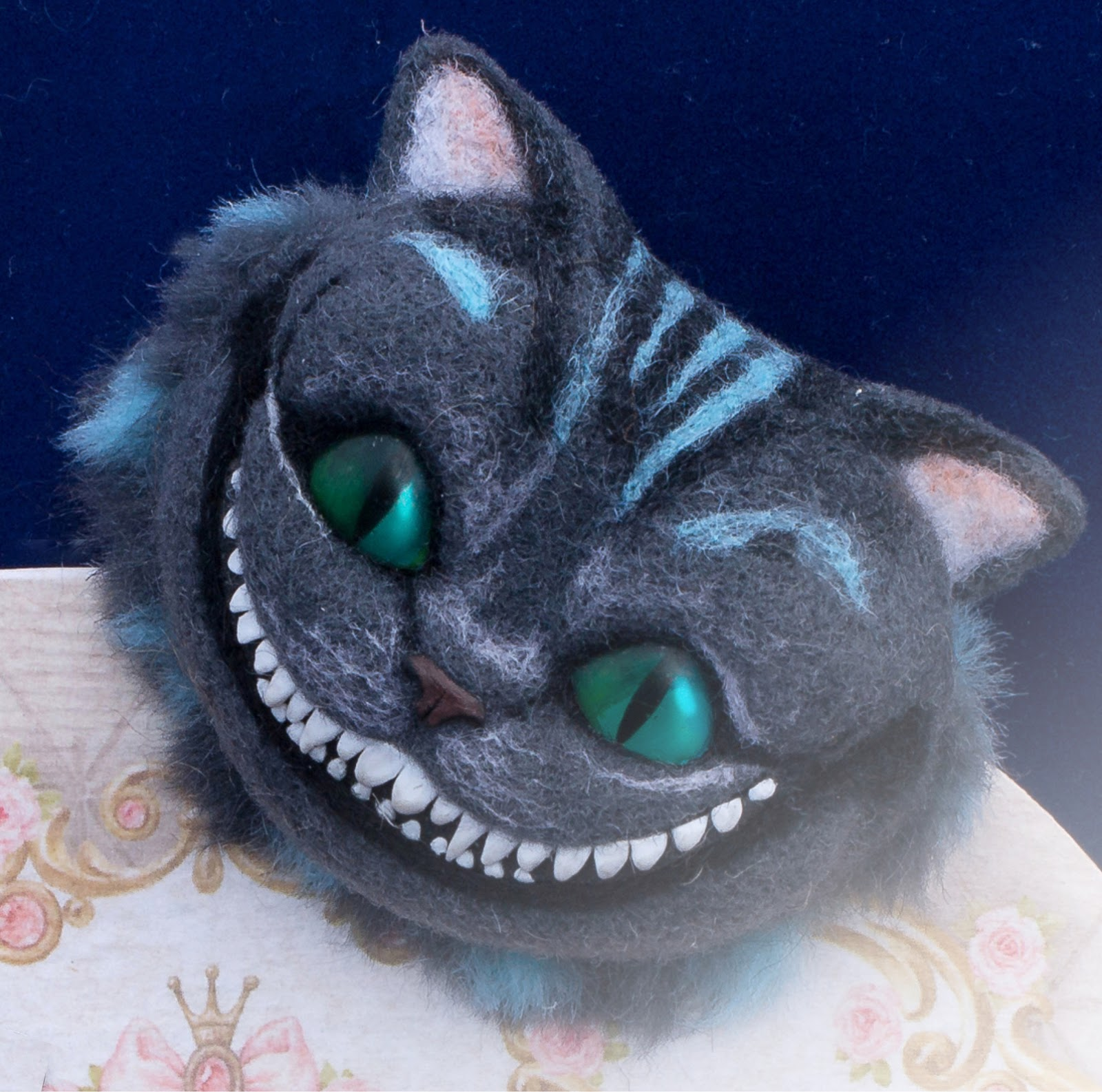 Как сделать улыбку чеширского кота