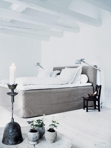 cama con cubracanaper hilo natural