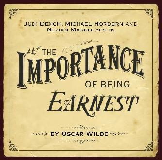 the aspect of given circumstances in the play the importance of being earnest Every page, every line of dialogue, every character, each symbol, and every stage direction in the importance of being earnest is bent on supporting wilde's contention that social change happens as a matter of thoughtfulness art can bring about such thoughtfulness.