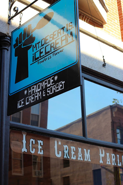 Mt. Desert Island Ice Cream | Portland Maine | Chichi Mary