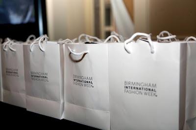 Birmingham International Fashion Week Show bags