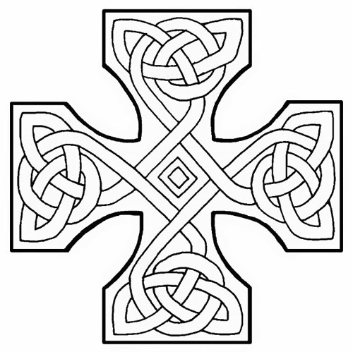 Motif de tatouage celtique au dod poignet et tour de bras