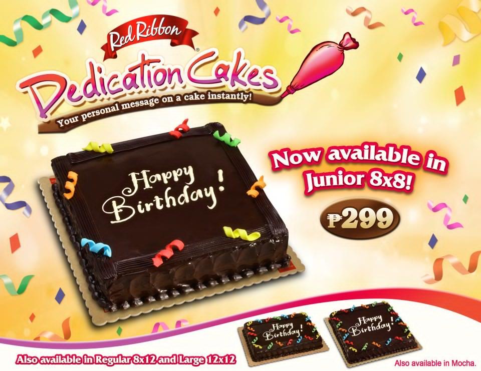 Diggdavao Red Ribbon Dedication Cakes