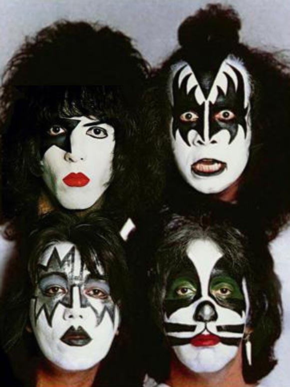 ¿Por qué se maquillaban los Kiss?