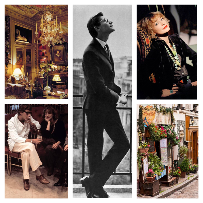 How to dress like Parisienne / Parisian style secrets / style tips / online stylist / Via look-a-porter.com / style & fashion blog / style tips / outfit inspiration daily / daily outfits / daily looks / ootd / yves saint laurent / loulou de la falaise