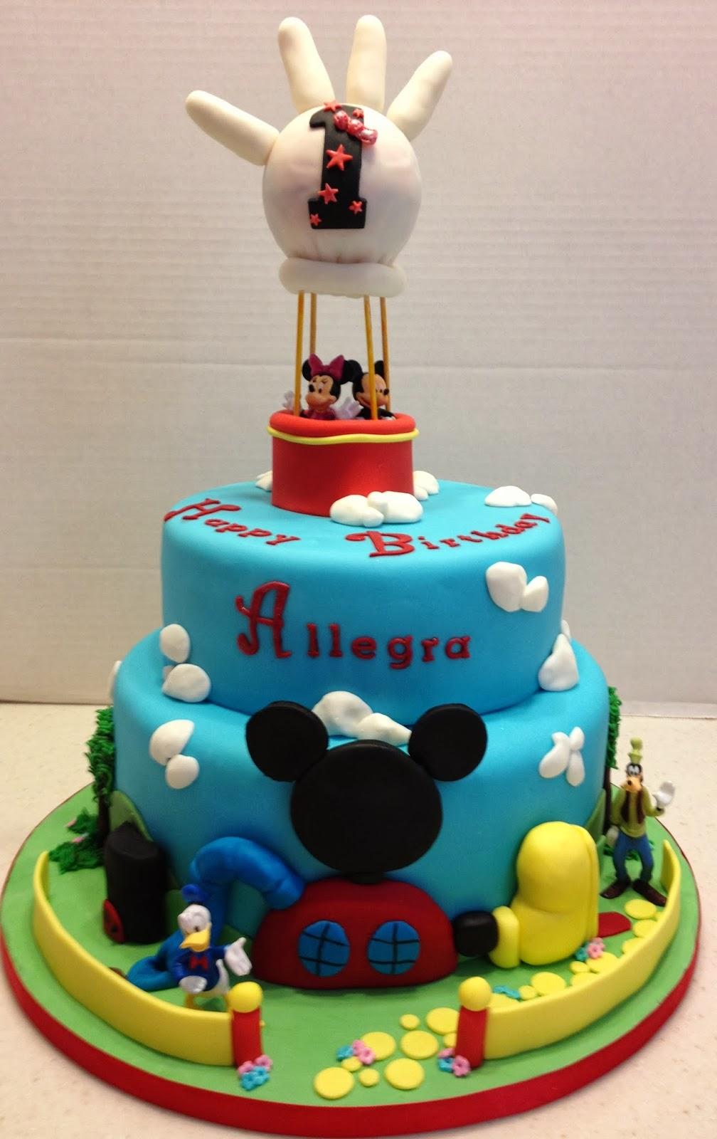 Marymel Cakes Allegras 1st Birthday