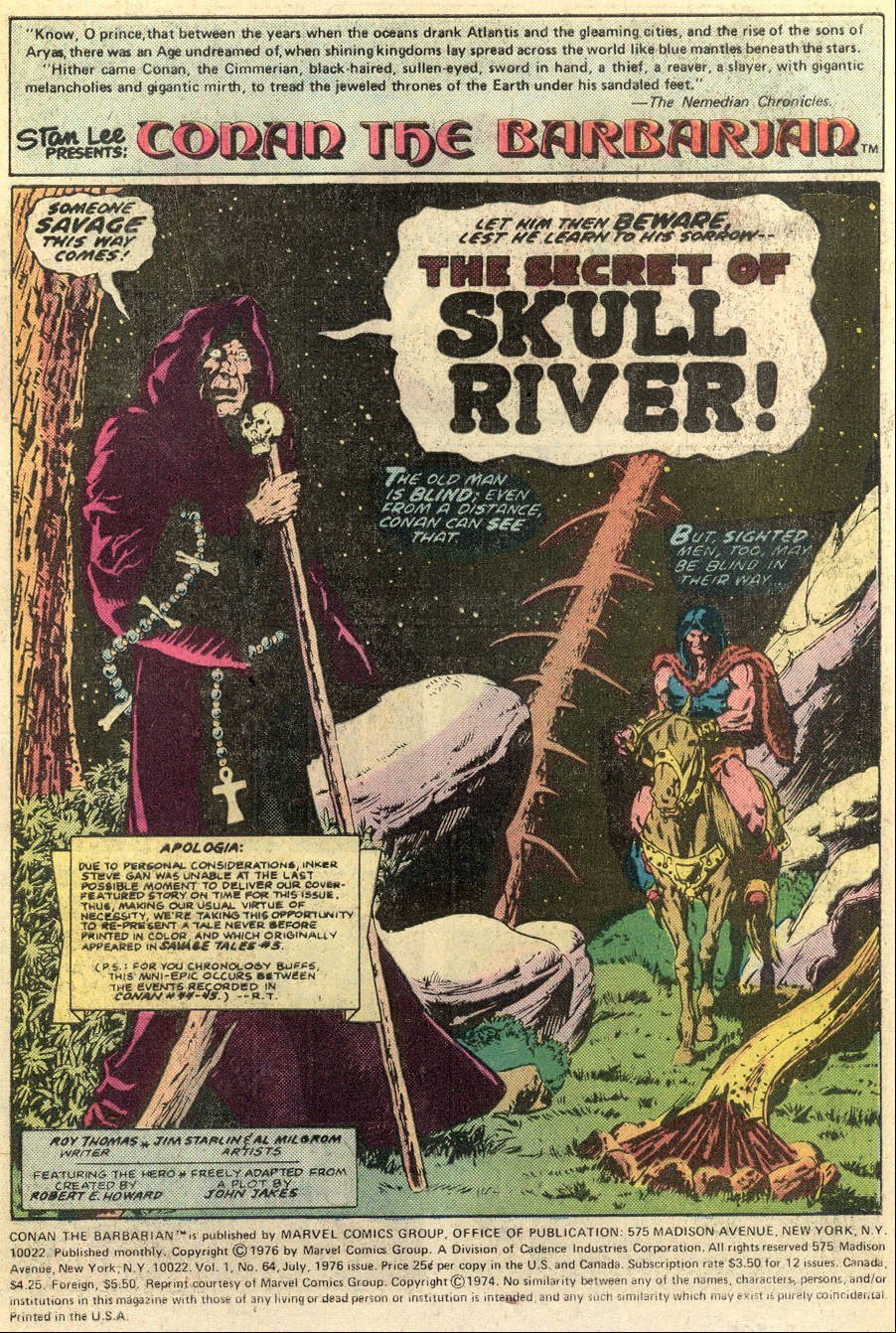 Conan the Barbarian (1970) Issue #64 #76 - English 2