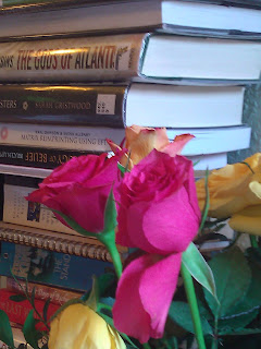 Book Stack Waiting to be Read