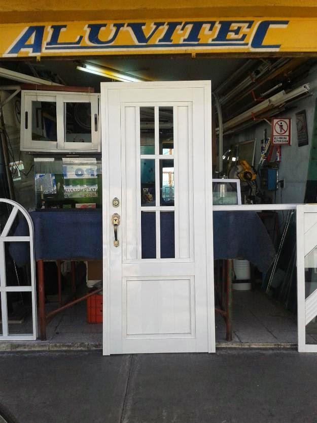 Aluminios y decoraciones el aguila c a trabajos de for Puertas de aluminio y vidrio modernas
