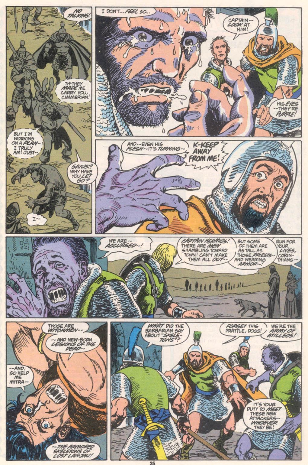 Conan the Barbarian (1970) Issue #255 #267 - English 20