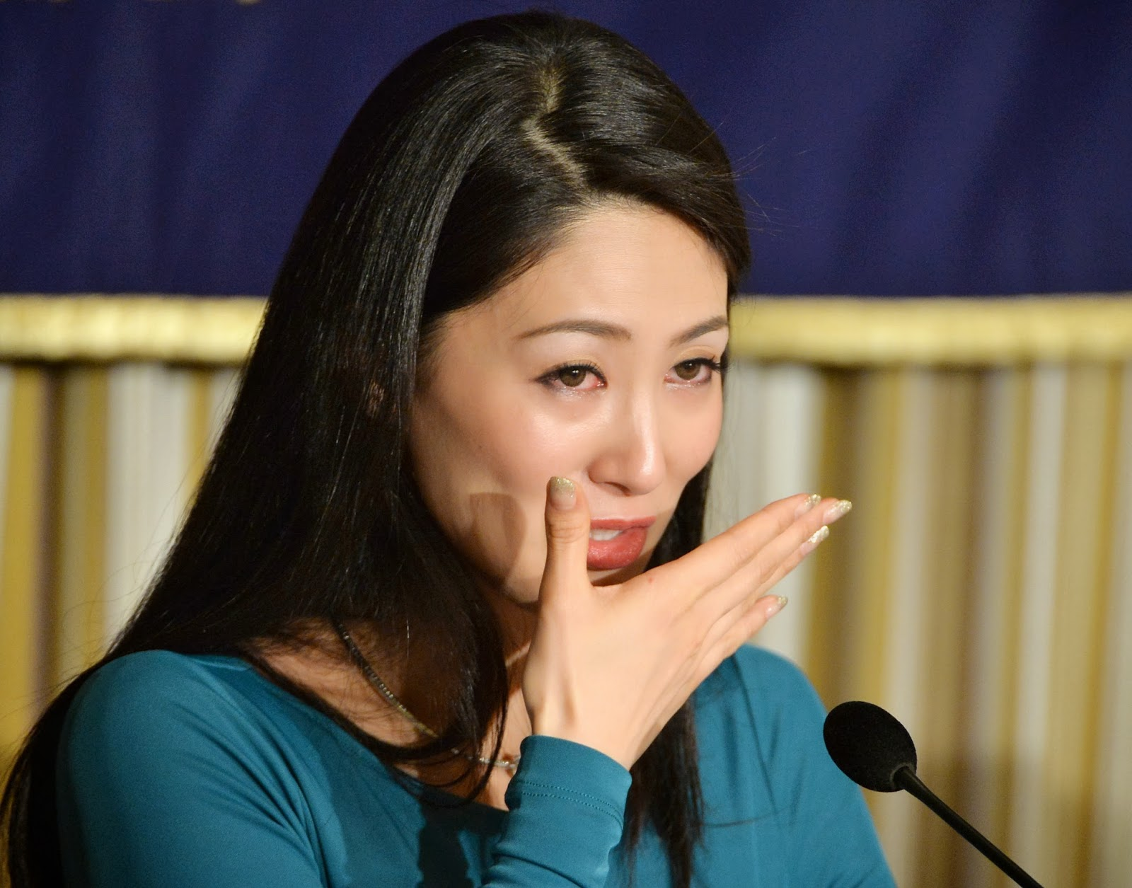 Harassment, Ikumi Yoshimatsu, Miss International-2012, Victims, Miss, Japan, , Weeping, Tokyo, Beauty, Queen, Suffering, Showbiz, Celebrities, Century,