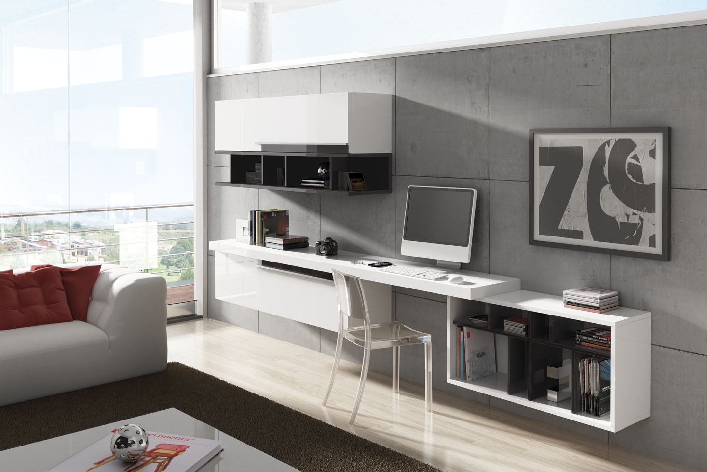 Informaci n de mobiliario el mueble la vida familiar y for Escritorios para salon comedor